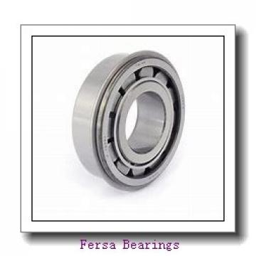 25 mm x 72 mm x 19 mm  Fersa 6306/25-2RS deep groove ball bearings