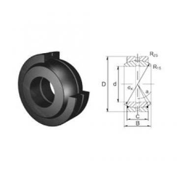 30 mm x 47 mm x 22 mm  ZEN GE30ES-2RS plain bearings