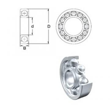 120 mm x 215 mm x 40 mm  ZEN 6224 deep groove ball bearings