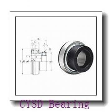 25,4 mm x 50,8 mm x 12,7 mm  CYSD R16-ZZ deep groove ball bearings