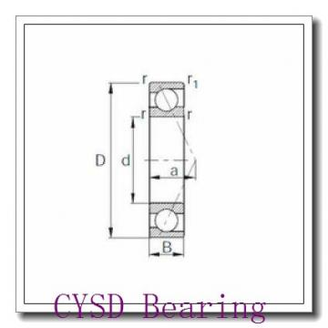 28,575 mm x 63,5 mm x 15,875 mm  CYSD 1652-ZZ deep groove ball bearings