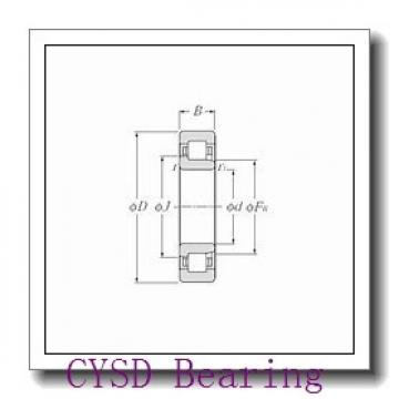 28,575 mm x 53,975 mm x 12,7 mm  CYSD R18-ZZ deep groove ball bearings