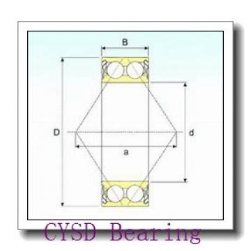 100 mm x 150 mm x 37 mm  CYSD NN3020/W33 cylindrical roller bearings