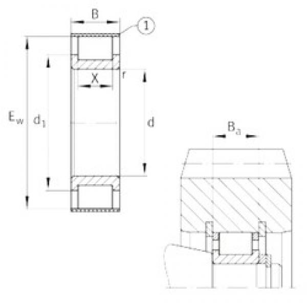 INA RSL182308-A cylindrical roller bearings #2 image